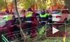 Опубликовано видео задержания сына вице-президента МТС после трехчасовой погони