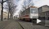 Автобус врезался в трамвай во время метели в Петербурге