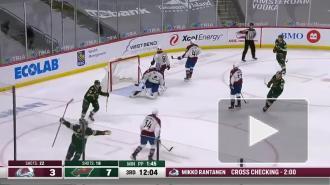 """Дубль Капризова помог """"Миннесоте"""" разгромить """"Колорадо"""" в матче НХЛ"""