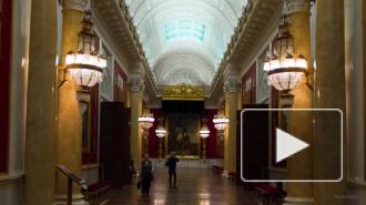 Петербуржец показал на видео залы Эрмитажа с помощью гиперлапса