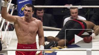 Владимир Кличко защитил все пояса, нокаутировав Алекса Леапаи