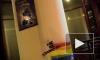 Единороссы не в курсе, что их офис разрисовали поклонники однополой любви