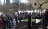В Петербурге начался согласованный марш памяти Бориса Немцова