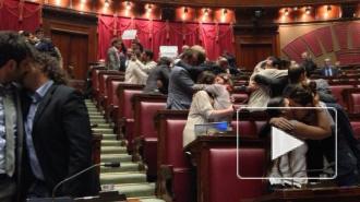 В итальянском парламенте устроили гей-оргию