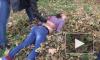 Кубань: на видео попало задержание подозреваемой в покушении на убийство