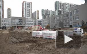 Самую большую школу в Петербурге на улице Лидии Зверевой планируют открыть 1 сентября