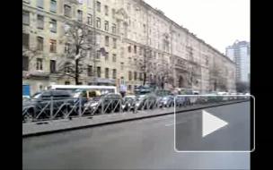 Всем стоять, Путин в городе. Пробки на юге Петербурга