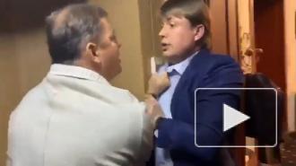 Опубликовано видео драки Олега Ляшко и депутата от партии Зеленского
