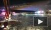 В аэропорту Нью-Йорка загорелся самолет с пассажирами