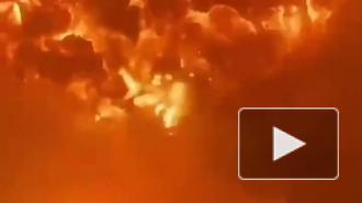 Ракетный удар ХАМАС по израильскому порту вызвал мощный взрыв
