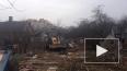 """В Колпинском районе бульдозером сносят постройки в """"Блок..."""