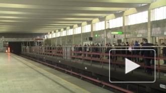 Продажа жетонов в петербургском метро по-прежнему сильно ограничена