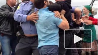 Человека, который ударил полицейского на Матвеевском рынке, осудили к 18 годам колонии