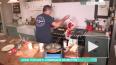 Шеф-повар едва не сжег кухню во время прямого эфира