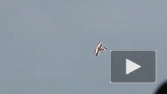 В США разбился самолет с женщиной-каскадером