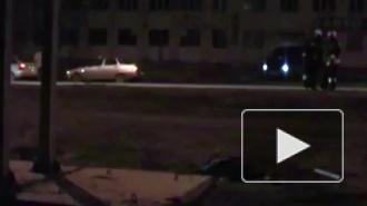 Трагическая гибель пешехода застопорила движение по Кронштадтскому путепроводу