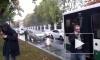 В Новом Петергофе иномарка врезалась в пассажирский автобус