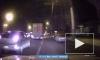 Видео момента ДТП из Воронежа: Стрела крана локомотива разнесла фуру