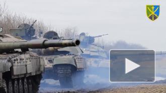 Украина начала крупные учения рядом с Крымом