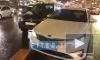"""""""Яндекс.Такси"""" подрезал иномарку со встречной полосы на Невском проспекте"""