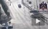 Видео полета иномарки после ДТП В Красноярске опубликовали в интернете