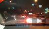 На Лесном проспекте авария: столкнулись легковушка и маршрутка