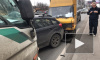ДТП из семи машин на Выборгском шоссе собрало огромную пробку