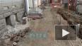 Видео: продолжаются ремонтные работы на проспекте ...
