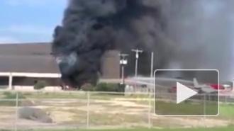 Опубликовано видео с места крушения самолета в Техасе, где погибли 10 человек