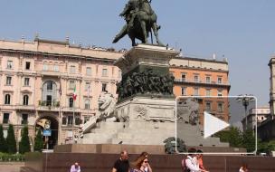 Милан. Миланский собор. Duomo di Milano.Piazza del Duomo. Milan. Italy.