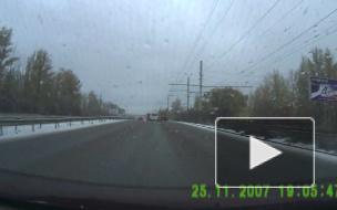 МЧС: заморозки в Петербурге могут спровоцировать массовые утренние ДТП
