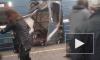 Появилось видео с места взрыва на станции метро Сенная площадь