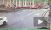 Появилось видео ДТП на перекрестке Гороховой и Грибоедова, где погиб пешеход