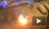 Видео: На Белышева загорелся легковой автомобиль