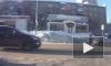 Появилось видео ДТП: легковушка сбила женщину на зебре в Бугульме