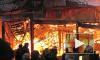Ночью в Петербурге сгорел завод по производству лодок и яхт