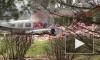 В Огайо легкомоторный самолет врезался в жилой дом и загорелся
