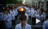 Факельное шествие московских студентов вызвало «коричневые» ассоциации