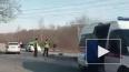 В Ломоносове мотоциклист погиб под колесами легковушки