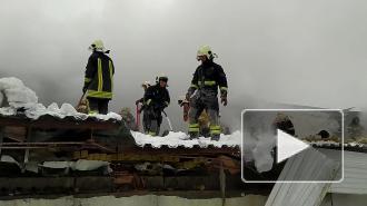 В Самаре загорелся склад по фасовке восточных сладостей