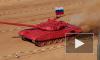 Танковый биатлон в 2014 году поражает китайскими танками Туре 96 и виртуозным проходом трассы россиянами