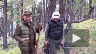Шнуров посвятил стихотворение отдыху Путина и Шойгу в сибирской тайге