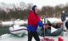 #Mannequin Challenge: Воронежские экстремалы устроили пикник на плывущей льдине