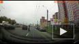 """Видео с регистратора: """"Ягуар"""" сбил пешехода на Кушелевской ..."""