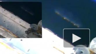 На видео с МКС уфологи разглядели гигантский НЛО