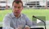 Медведева чуть не снесло ураганом во время совещания под Брянском