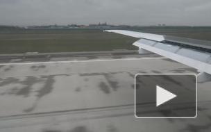 """Самолет SSJ 100 """"Аэрофлота"""" не смог улететь в Москву из-за отказа гидросистемы"""