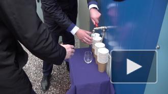 Видео: в дома жителей Рябово начала поступать чистая вода