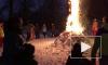 Петербуржцы самоорганизовались и сожгли чучело зимы
