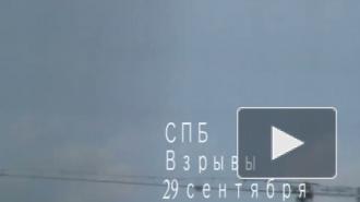 В Петербурге слышны взрывы с военных полигонов